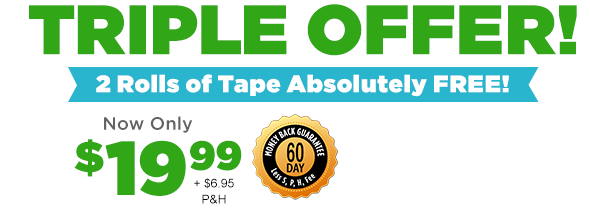 Alien Tape Triple offer